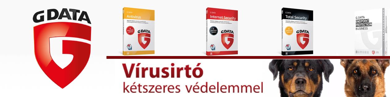 GData vírusirtó - kétmotoros védelemmel